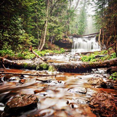 Foggy-Morning-at-Wagner-Falls-Munising-Jessica-Dobbs