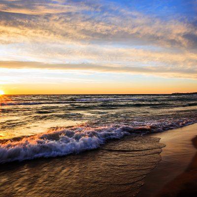 Lake-Michigan-Arcadia-Michigan-Beach-Sunset
