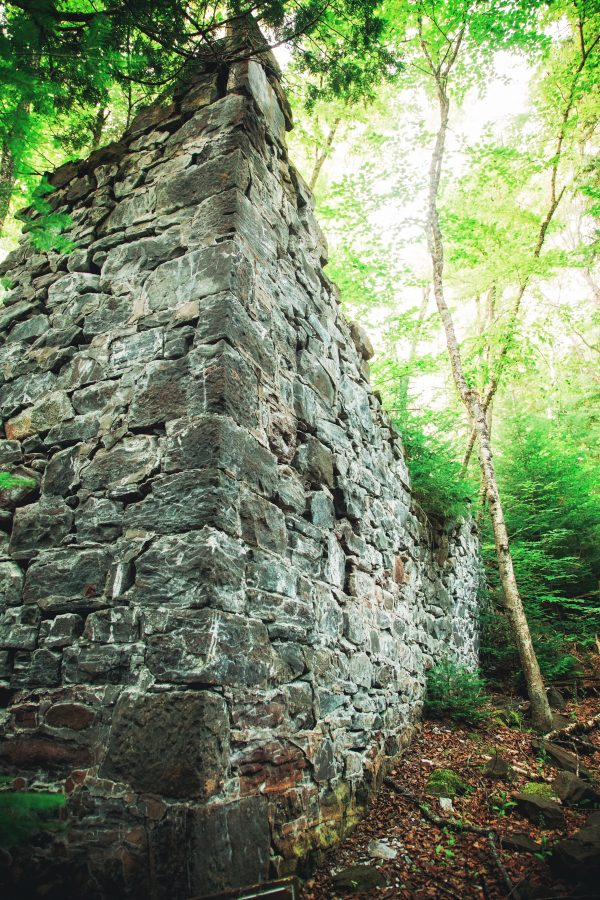Ruins at the Nonesuch Mines in Michigan's Porcupine Mountains State Park