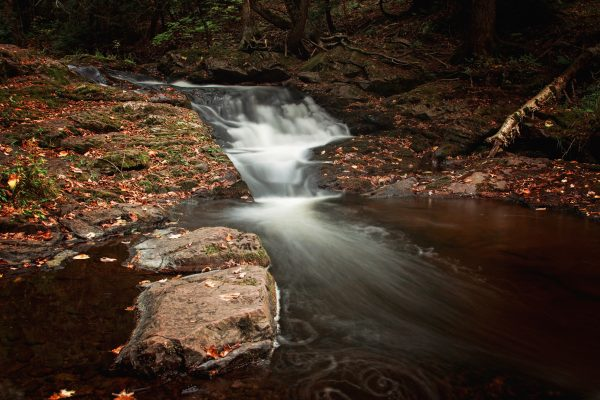 Overlooked Falls on the Little Carp River in the Porcupine Mountains