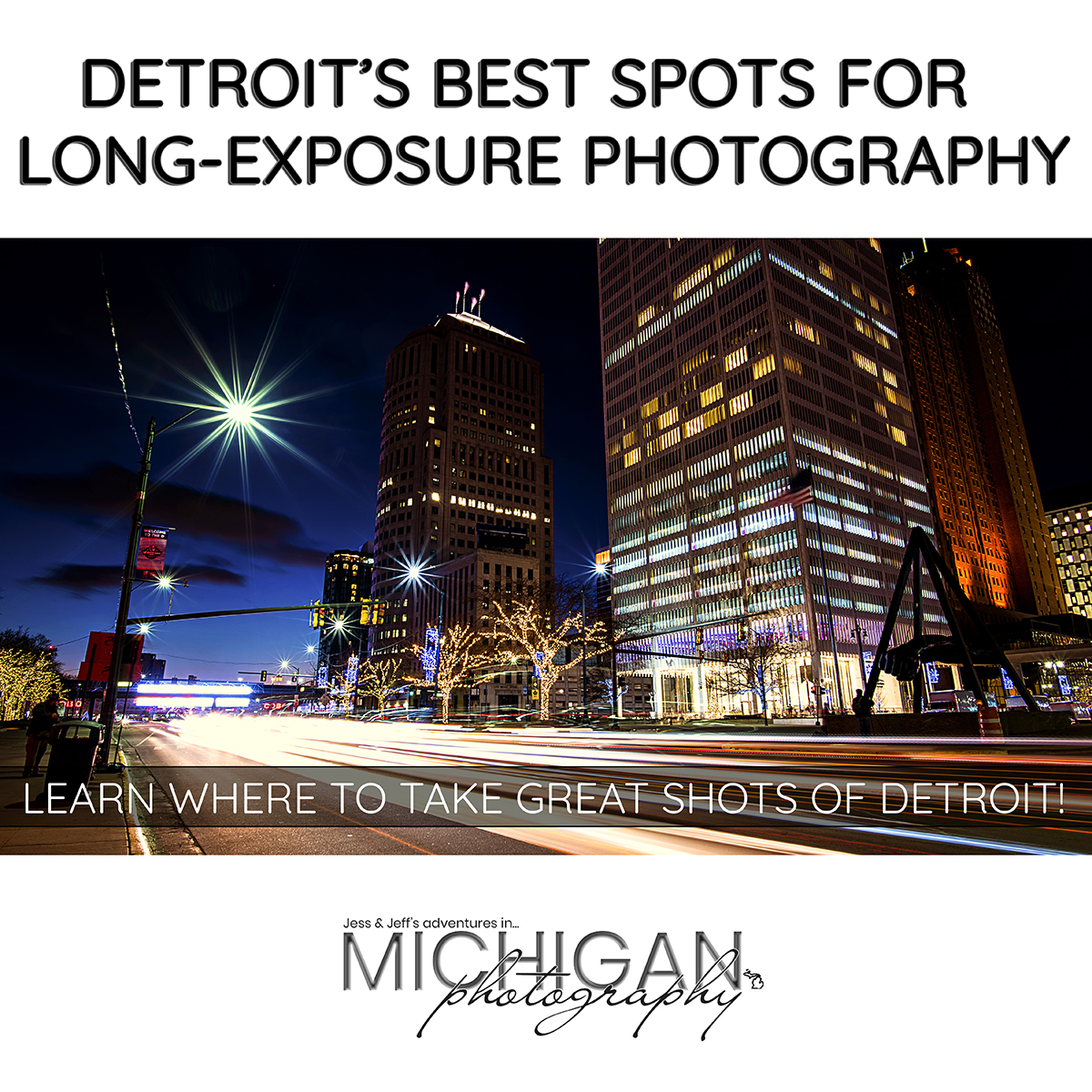 Long Exposure Photography - Detroit's Best Spots for Long Exposure Photography   Learn where to take great shots of Detroit!   Detroit   Long Exposure   Tips   Tricks   Photography Tips   Long Exposure Tips