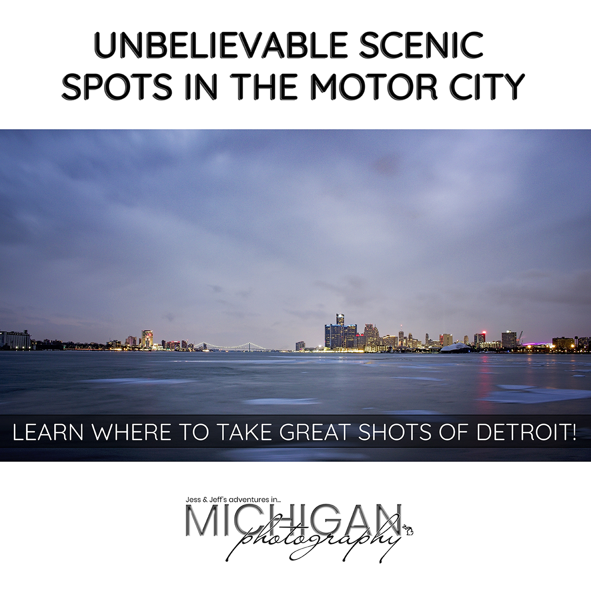 Detroit Photography Locations - Unbelievable Scenic Spots in the Motor City | Learn Where to take Great Shots of Detroit
