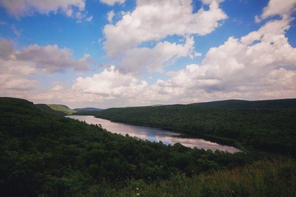 Lake of the Clouds in Michigan's Upper Peninsula