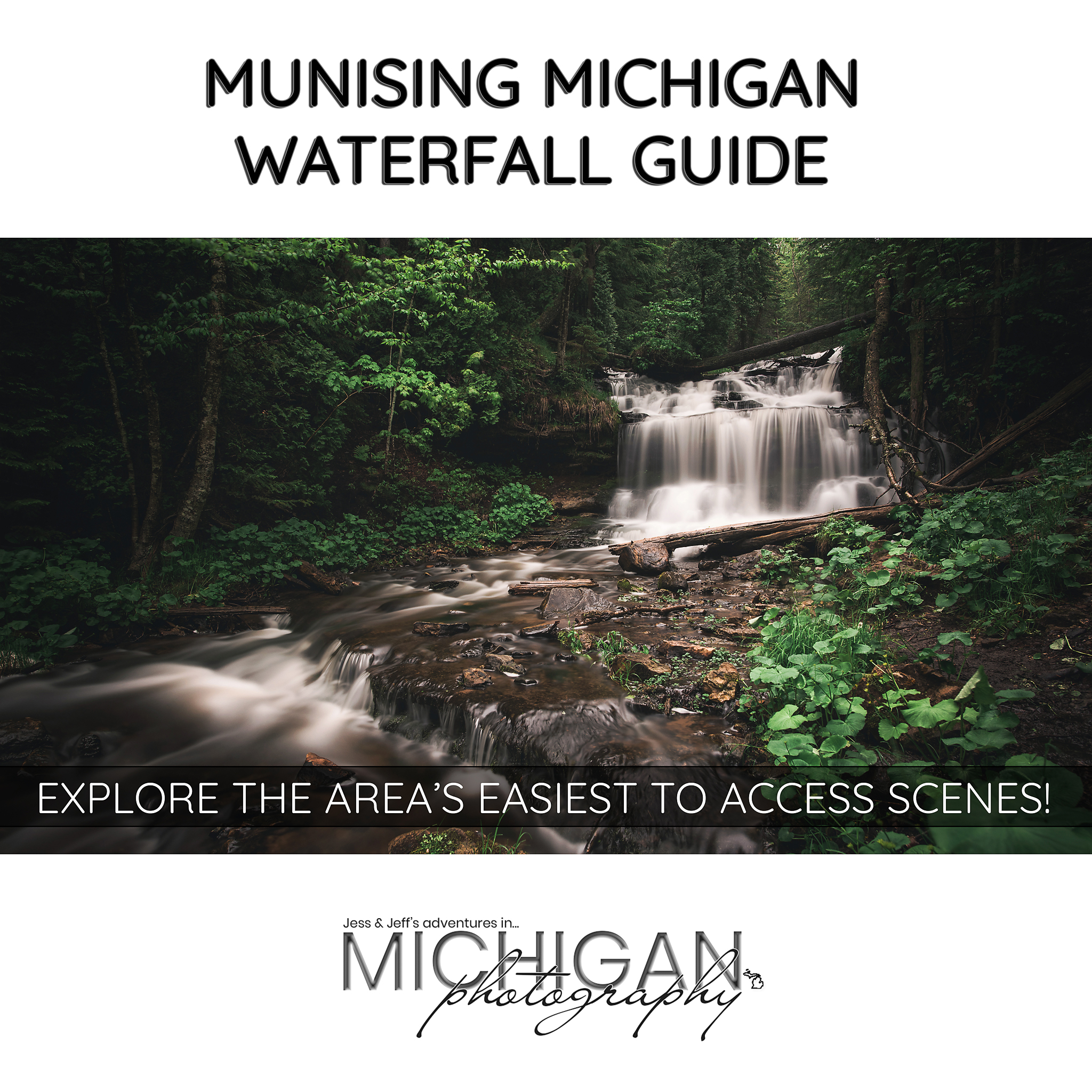Our Munising Michigan Waterfall Guided Tour