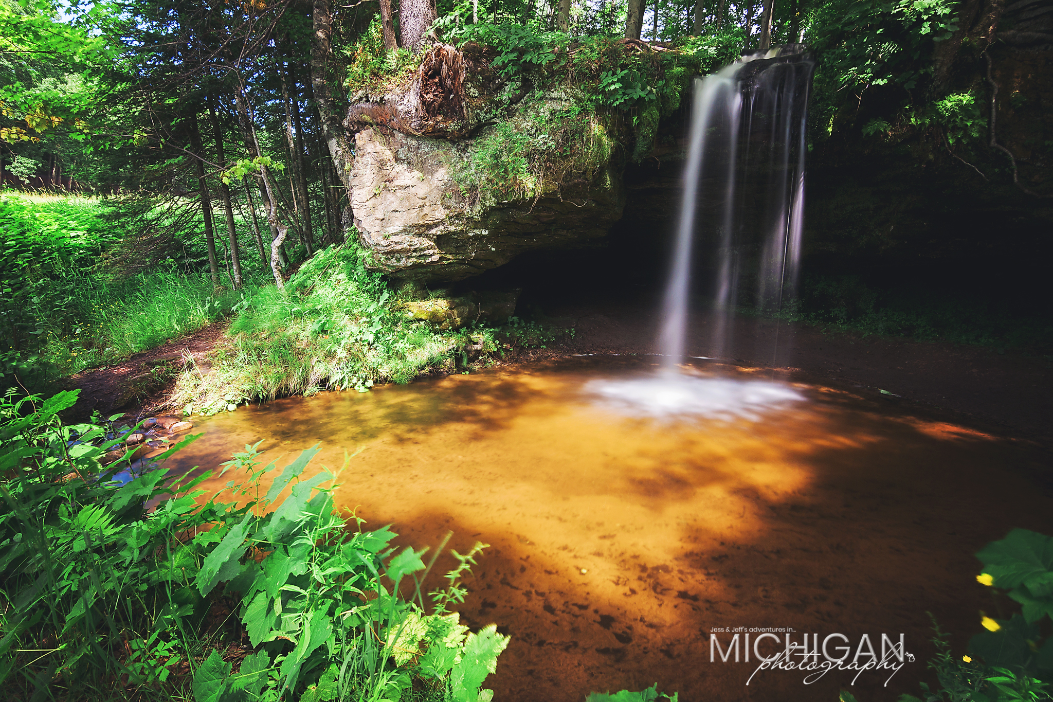 Scott Falls near Munising Michigan