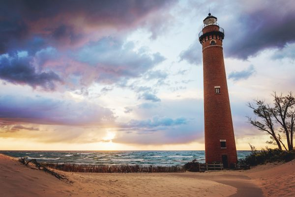 Little Sable Point Lighthouse Sunset