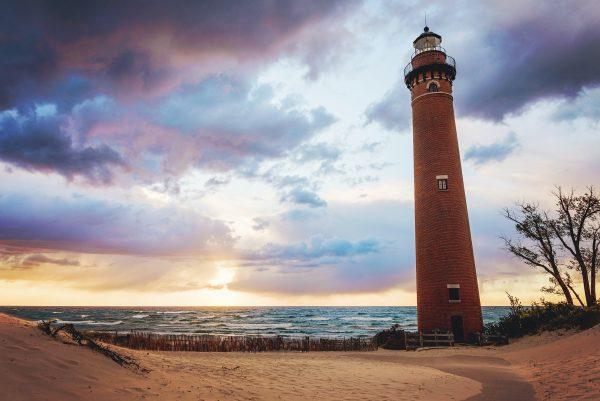 Little Sable Point Lighthouse Sunset