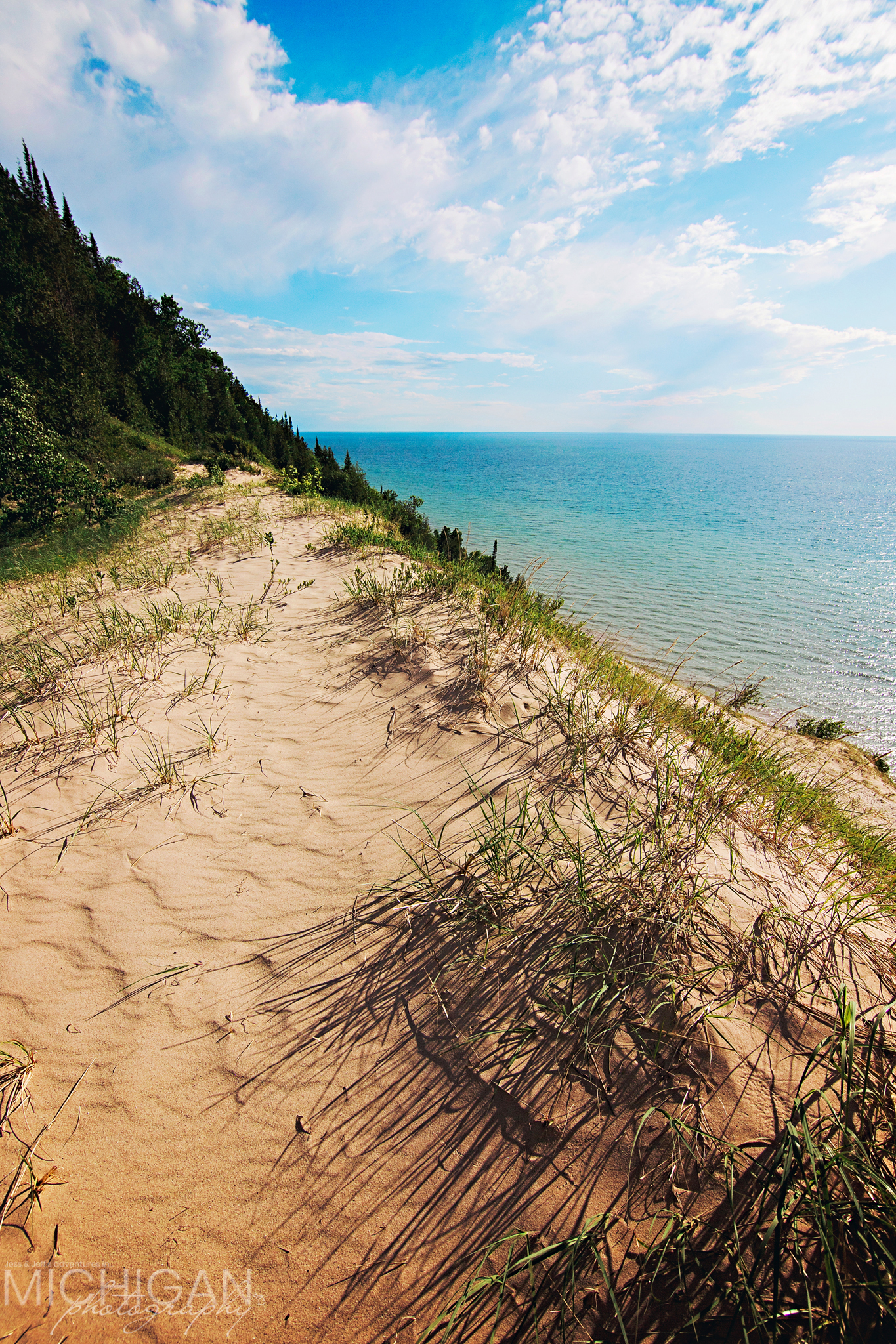 The view south from the Old Baldy Dune.