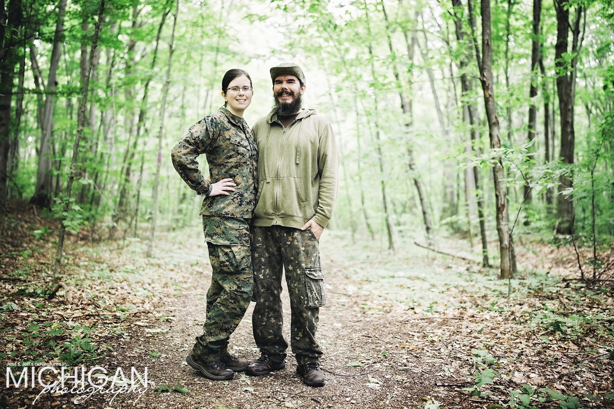 Jess & Jeff of Michigan Photography